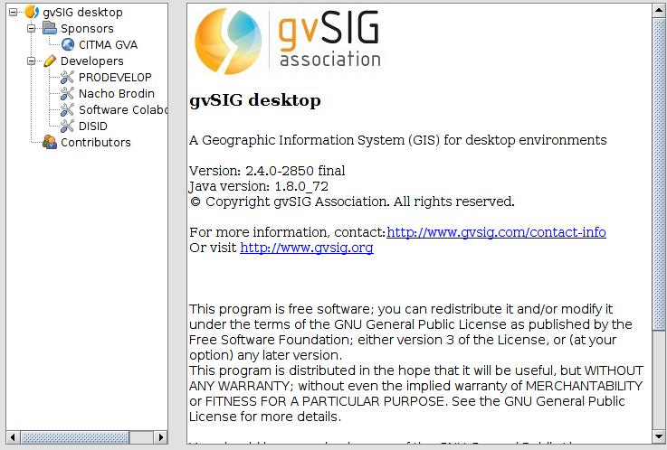 gvSIG 2.4 en Ubuntu Xenial Xerus 16.04 LTS