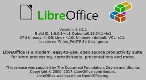 LibreOffice 6.0 en Linux Mint 18.2 Sonya (imagen destacada)