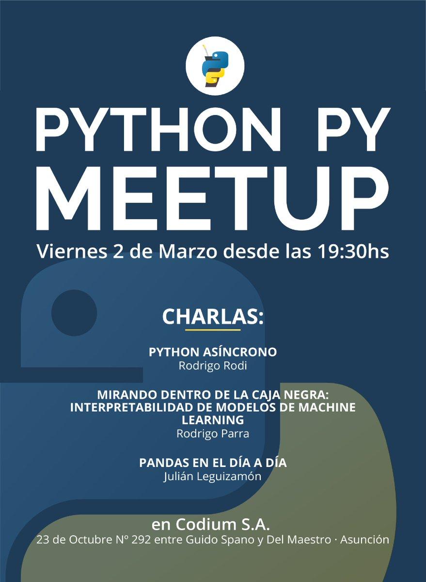 Meetup Python Paraguay 2018.2