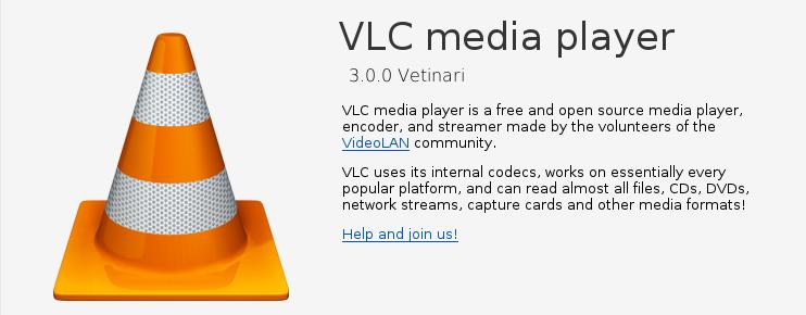 VLC 3.0.0 en Debian Strech