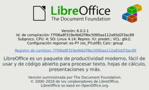 LibreOffice 6.0.2 en Debian Stretch (imagen destacada)