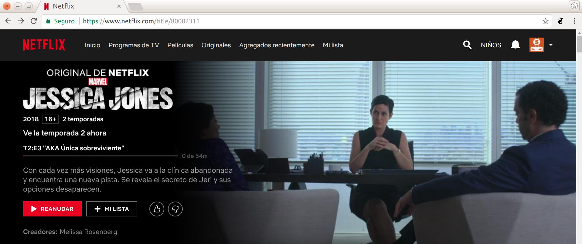 Netflix en Linux
