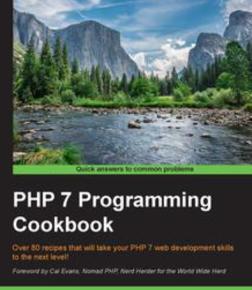 PHP 7 Programming Cookbook, ebook gratuito disponible durante las próximas 20 horas (imagen destacada)