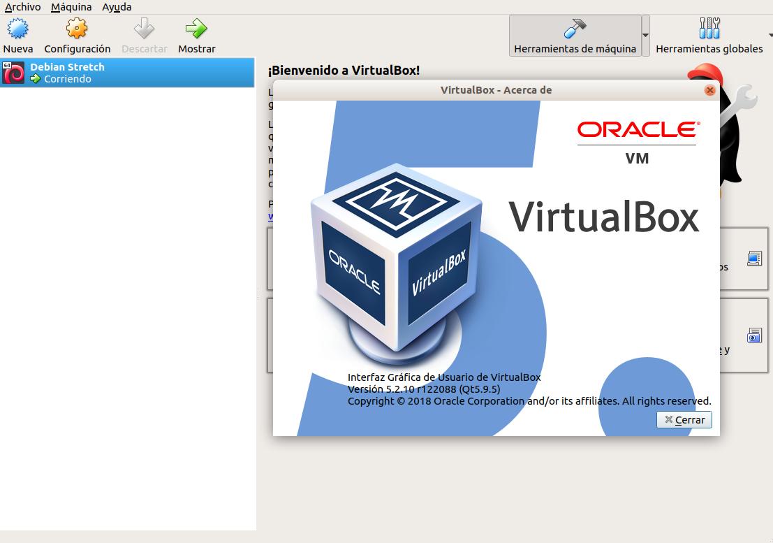 Instalar VirtualBox 5.2 en Ubuntu 18.04 LTS Bionic Beaver
