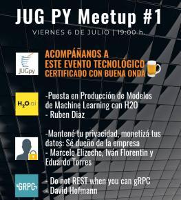 JUG PY Meetup #1 - Asunción Paraguay (imagen destacada)