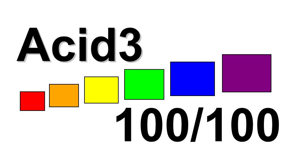 Acid3 en Microsoft Edge