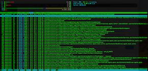 Htop en Mac OS (imagen destacada)