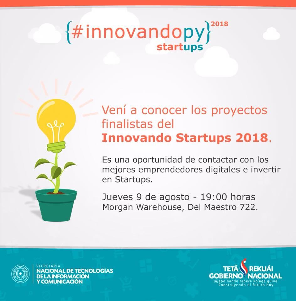 InnovandoPY - Startups 2018