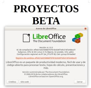 LibreOffice 6.1.0 en Ubuntu Bionic Beaver 18.04 LTS (imagen destacada)