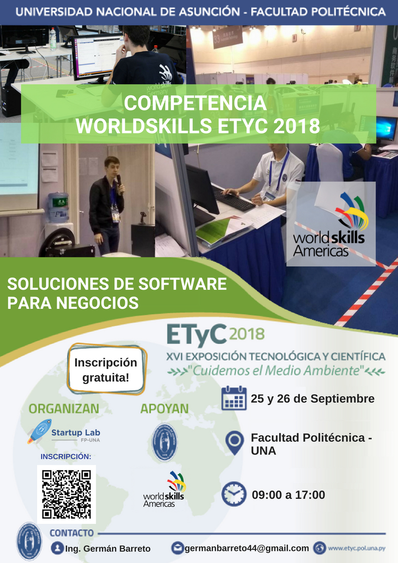 Competencia WorldSkills ETyC 2018