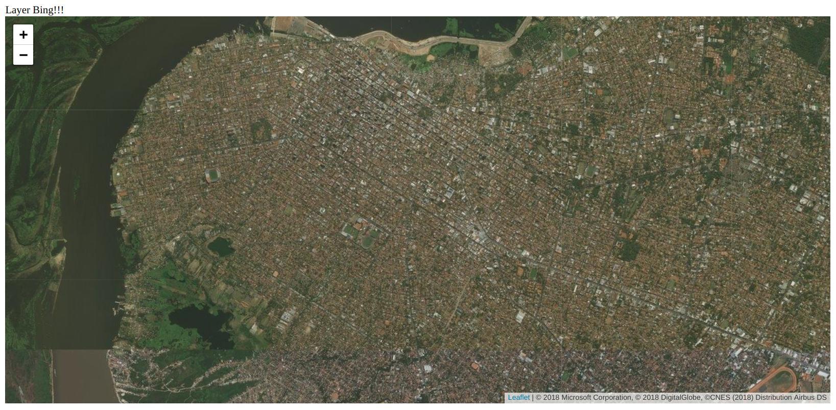 Bing Maps con Leaflet