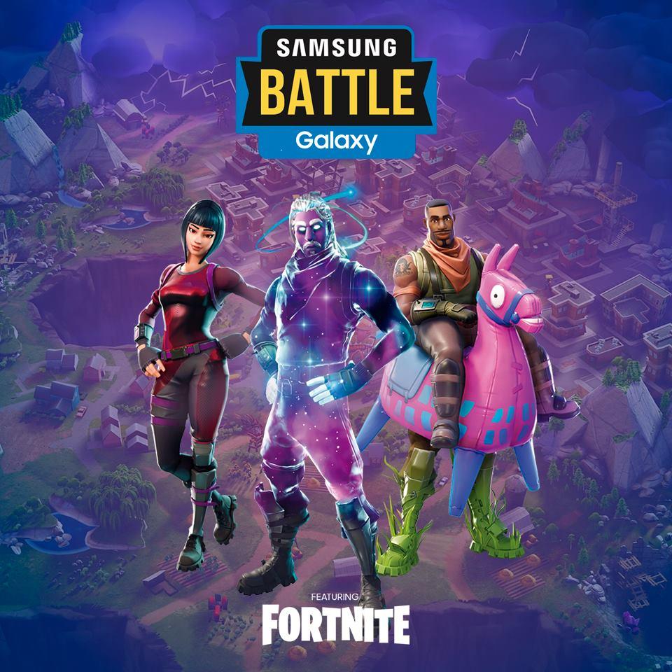 Competencia Samsung Fortnite 2019