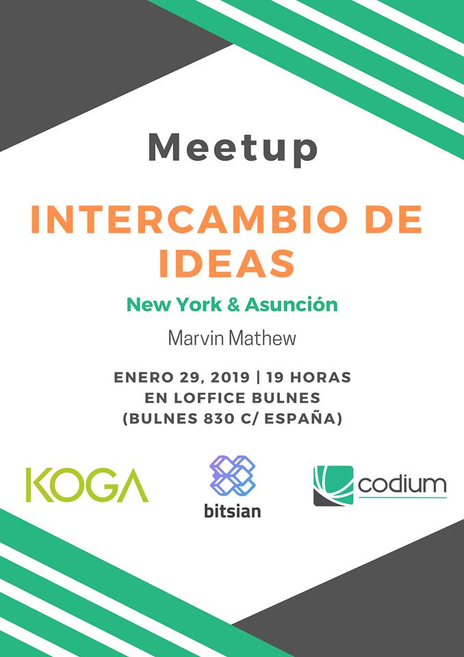 Meetup intercambio de ideas