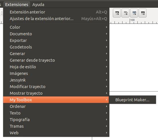 Nuevo plugin en Inkscape