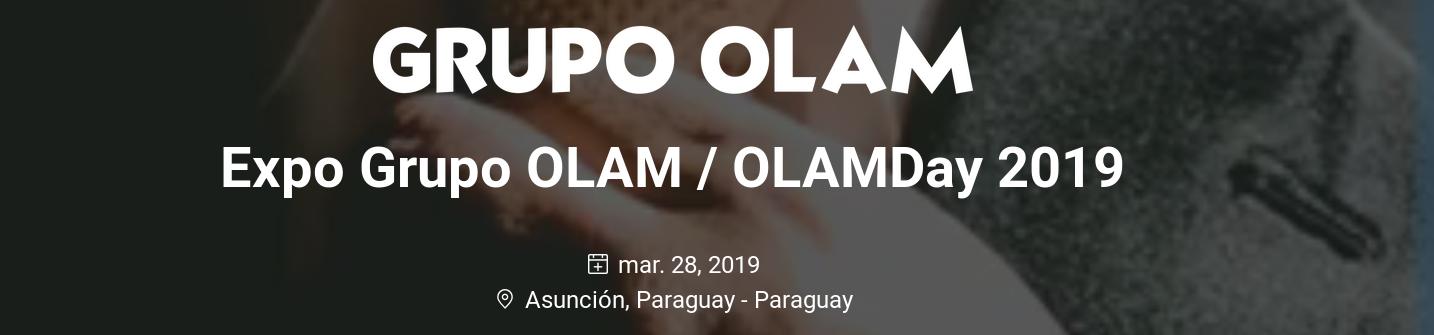 28 de marzo OLAMDay
