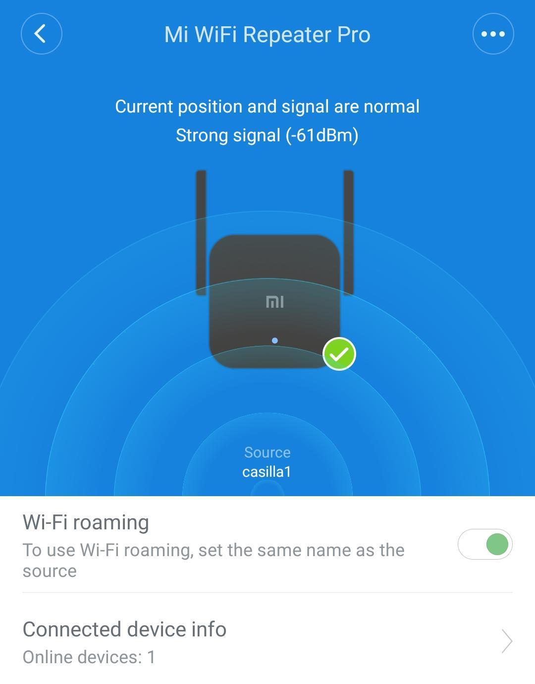Xiaomi Amplificador WiFi Pro 300 Mbps utilizando Mi Home