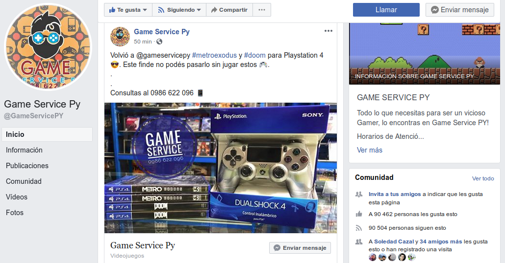 Game Service Paraguay