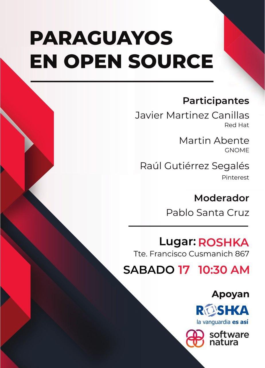 Paraguayos en Open Source