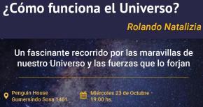 ¿Cómo funciona el universo? miércoles 23 de octubre (imagen destacada)