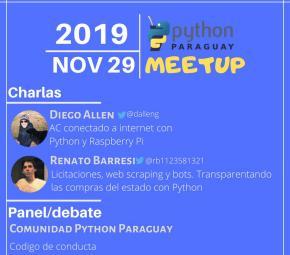 Meetup Python noviembre 2019 (imagen destacada)