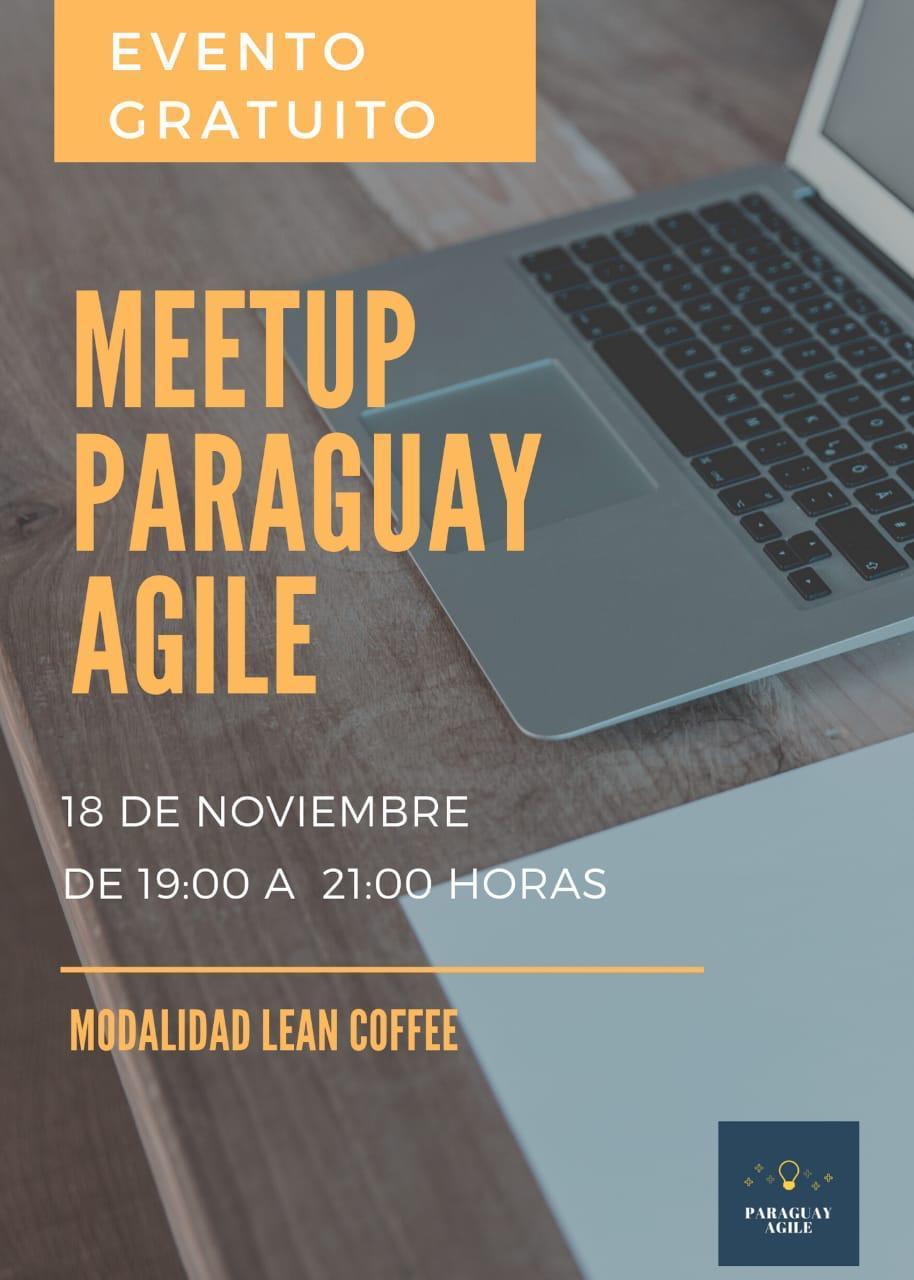Meetup sobre Lean Coffe de agilidad - 18 de noviembre