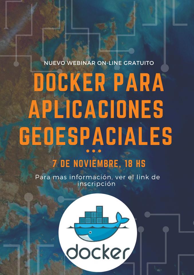 Webinar - docker para aplicaciones geoespaciales