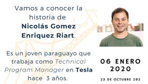 Paraguayo trabajando en Tesla (imagen destacada)