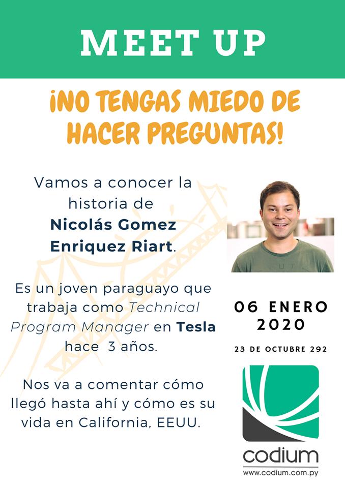 Paraguayo trabajando en Tesla