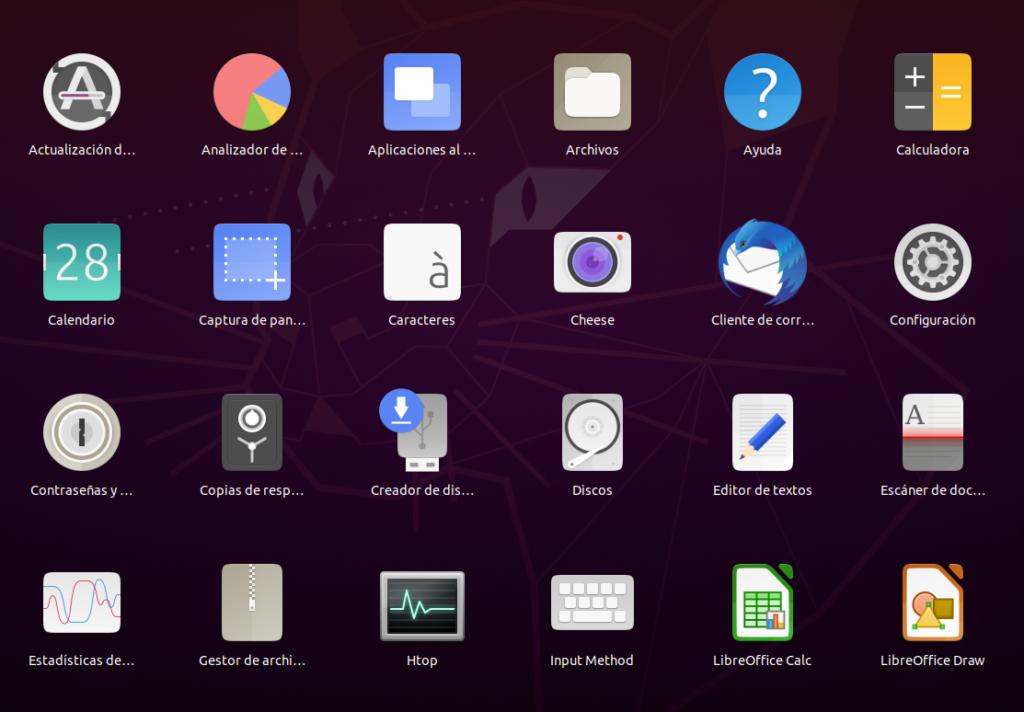 Aplicaciones Ubuntu 20.04 LTS Focal Fossa Beta