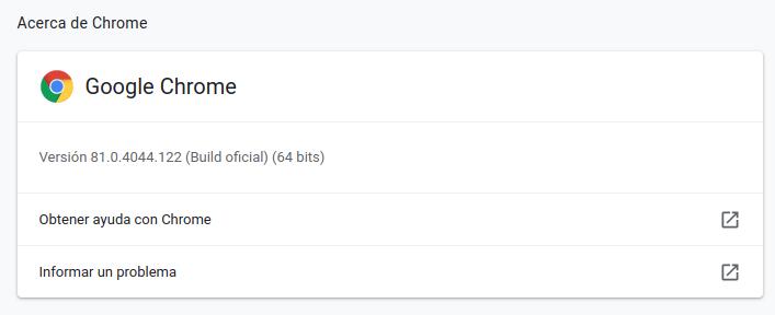 Google Chrome Ubuntu 20.04 LTS