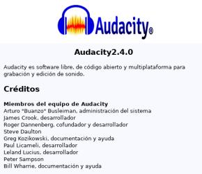 Audacity 2.4.0 en Debian Buster (imagen destacada)