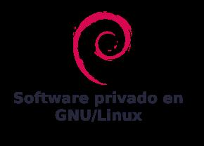 Software privado en GNU/Linux (imagen destacada)