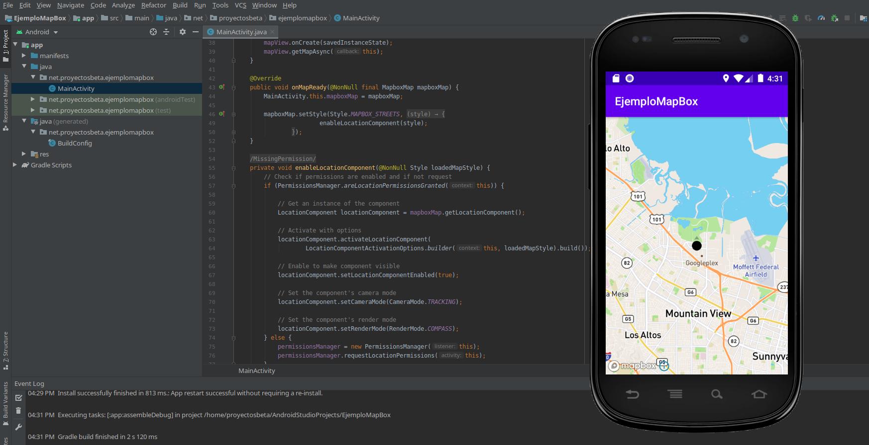 Emulador Android en Debian Buster