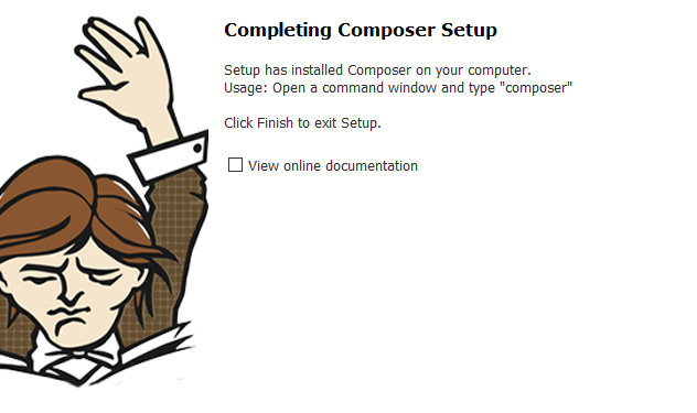 Instalar Composer Windows 10