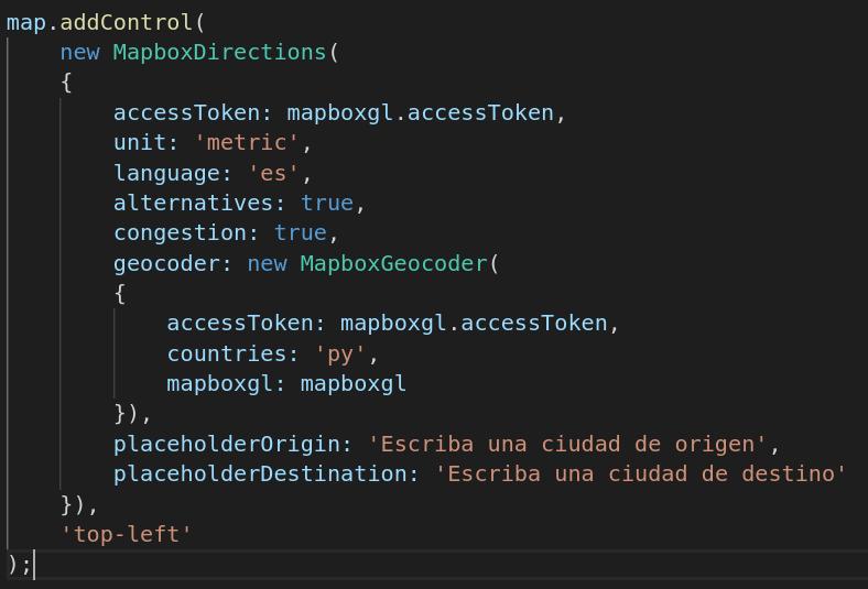 MapBoxDirections