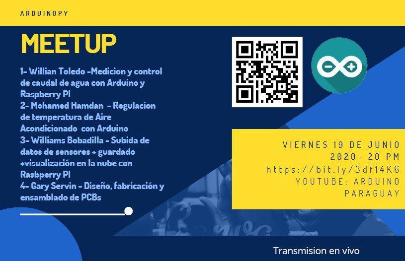 Primer meeup ArduinoPY