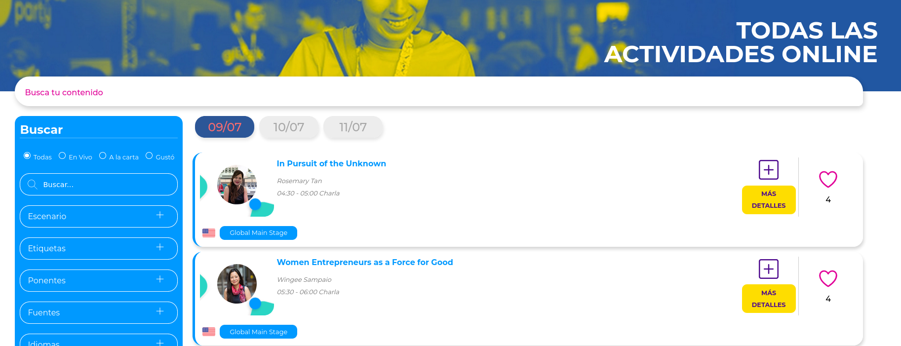 Campus Party Agenda 2020