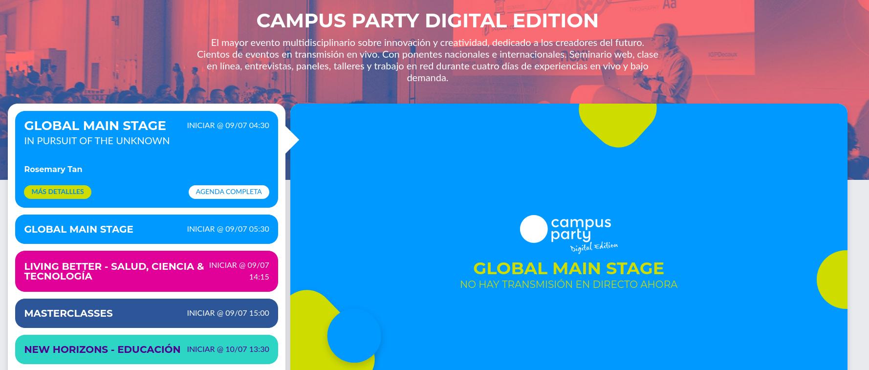 Campus Party Digital Edition 2020 Paraguay