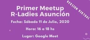 Primer Meetup R-Ladies Asunción - julio 2020 (imagen destacada)