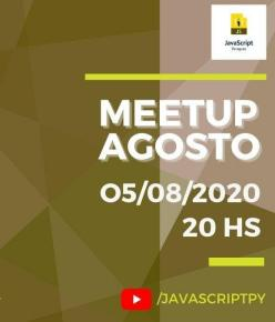 Tercer Meetup JavaScriptPY (imagen destacada)