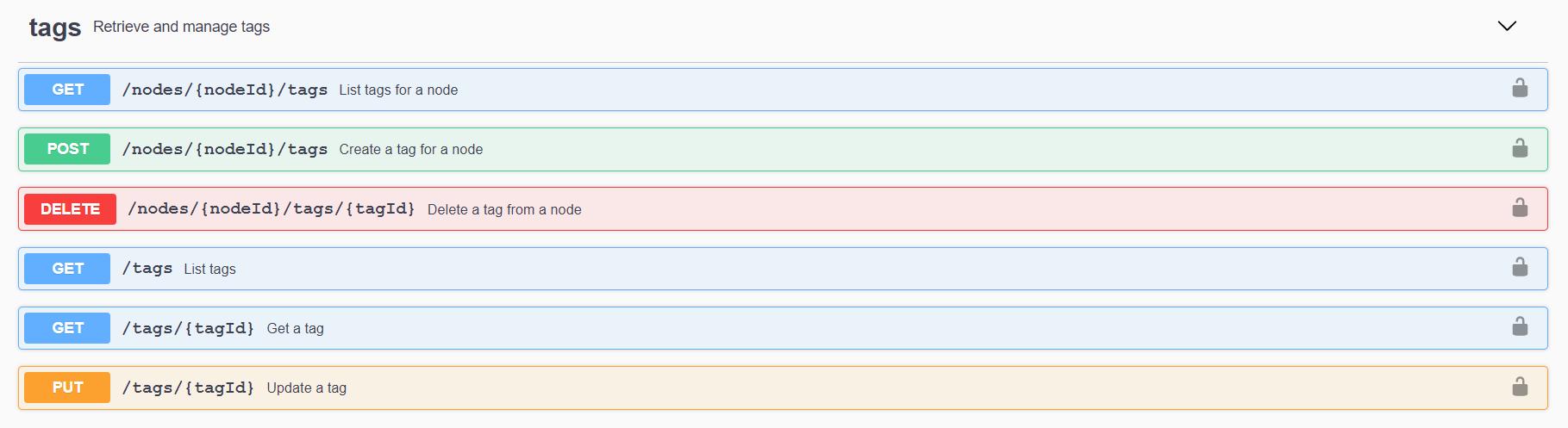 API-REST-Tags en Alfresco