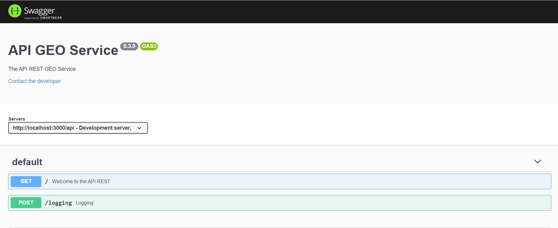 Documentación API