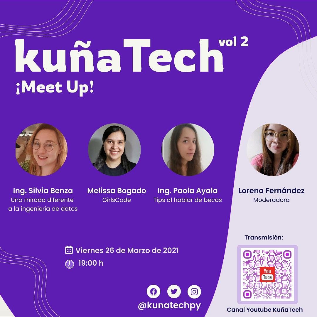 KuñaTech Segundo meetup 2021