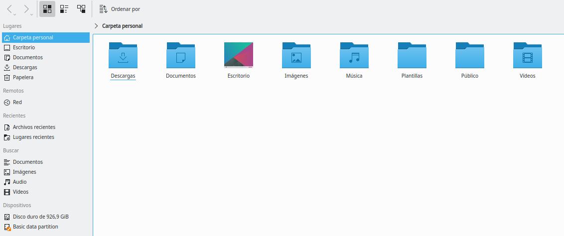 KDE Plasma 5 en Ubuntu Focal Fossa 20.04 LTS