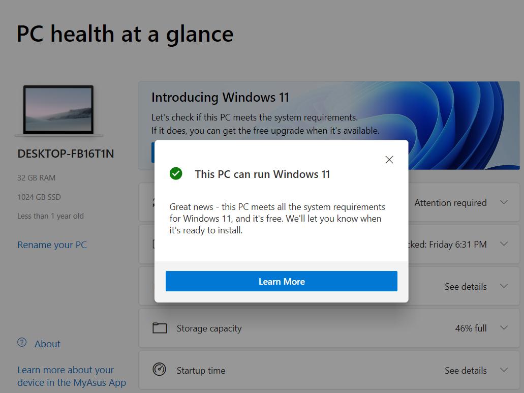 Verificar PC Windows11