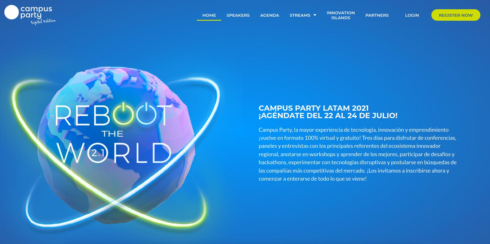 Campus Party Edition Digital Paraguay 2021