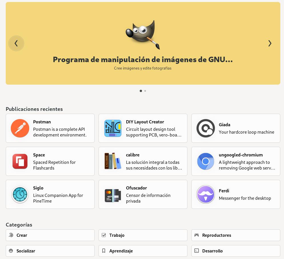 GNOME 41 - Software
